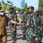Gubernur Maluku Pimpin Apel Gelar Pasukan Pengamanan Natal, Sampaikan Amanat Kapolri